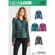 6583 New Look Pattern: Misses' Jackets